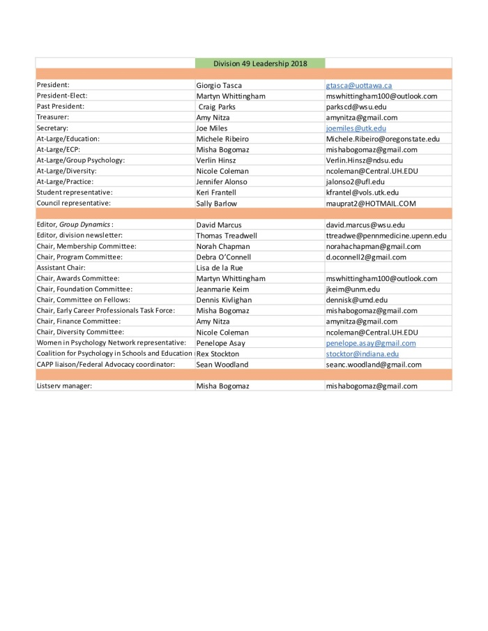 6-15-18 Division 49 Leadership